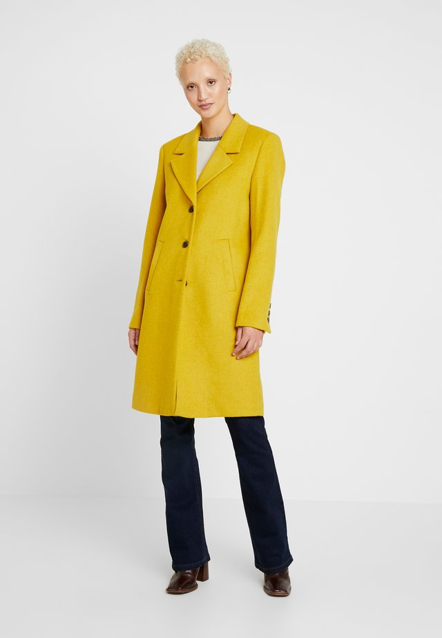 SLFSASJA COAT - Mantel - lemon curry