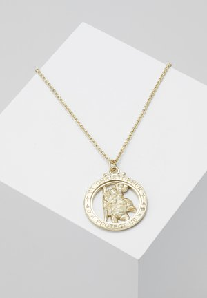 ST CHRISTOPHER NECKLACE - Collana - gold-coloured