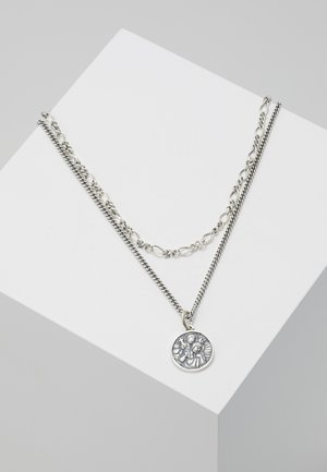 CHRISTOPHER CHAIN NECKLACE - Naszyjnik - silver