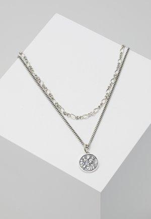 CHRISTOPHER CHAIN NECKLACE - Náhrdelník - silver