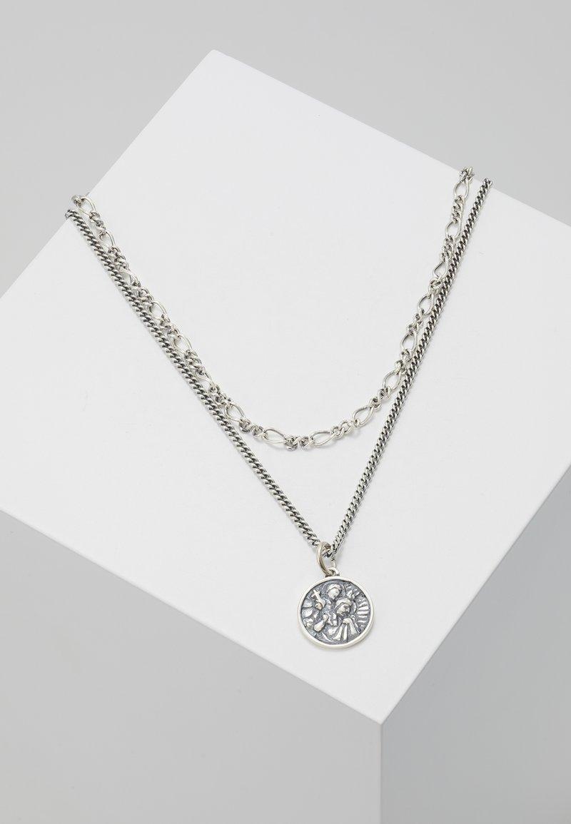 Serge DeNimes - CHRISTOPHER CHAIN NECKLACE - Halskette - silver