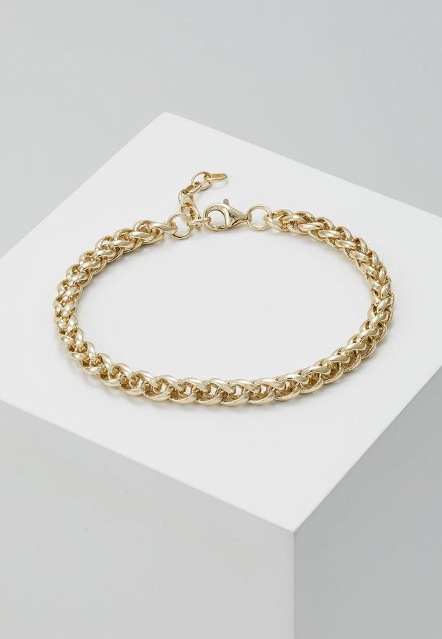 BARREL CHAIN BRACELET - Armbånd - gold-colored