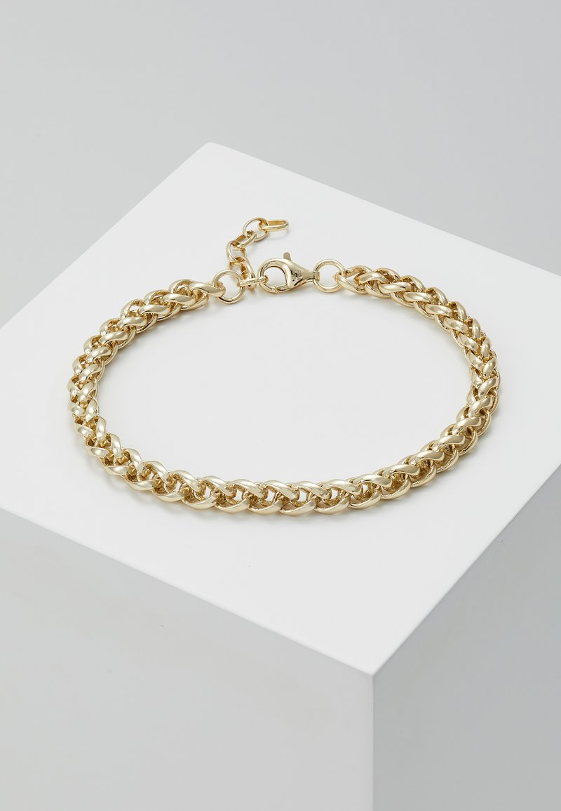 Serge DeNimes - BARREL CHAIN BRACELET - Armband - gold-colored