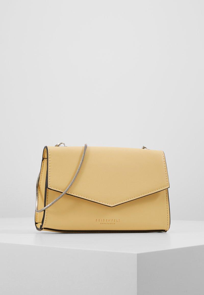 Seidenfelt - RISOR - Across body bag - yellow