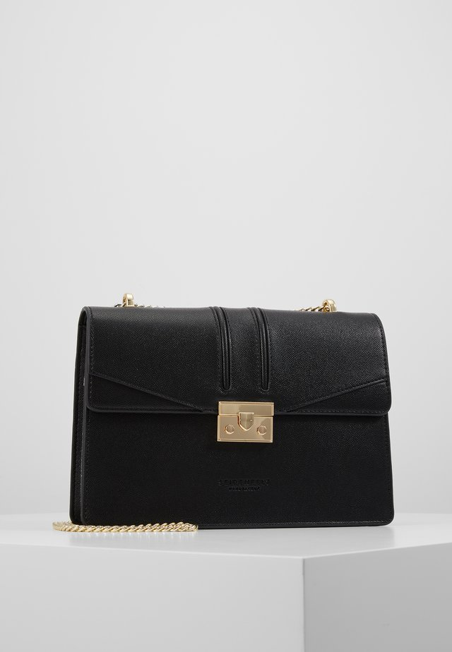 ROROS BIG - Across body bag - black/ gold-coloured