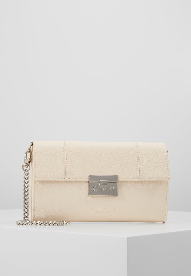 ROROS CLUTCH - Clutch - beige/silver-coloured