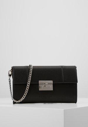 ROROS CLUTCH - Clutch - black/ silver-coloured