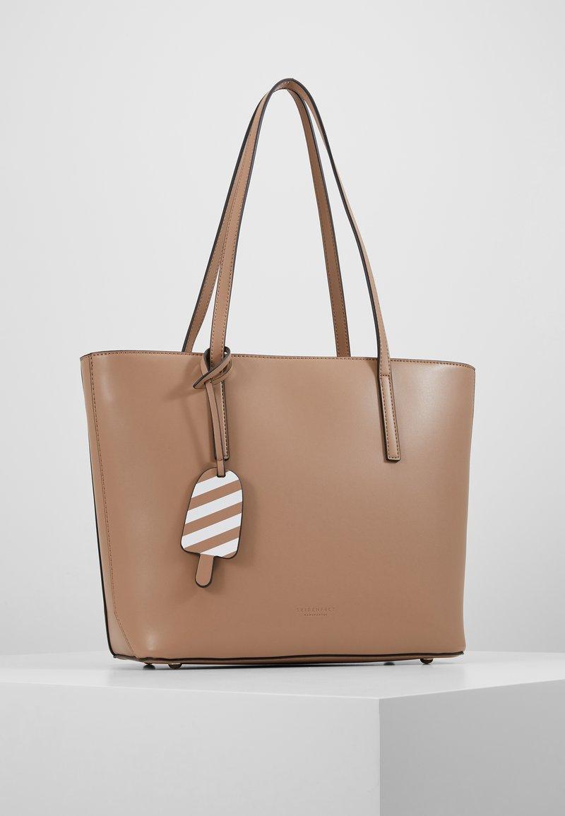 Seidenfelt - LYNGDAL - Handbag - almond