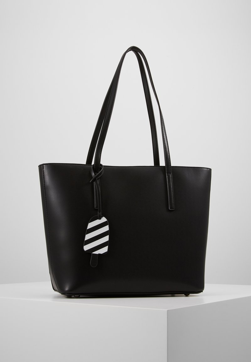 Seidenfelt - LYNGDAL - Käsilaukku - black
