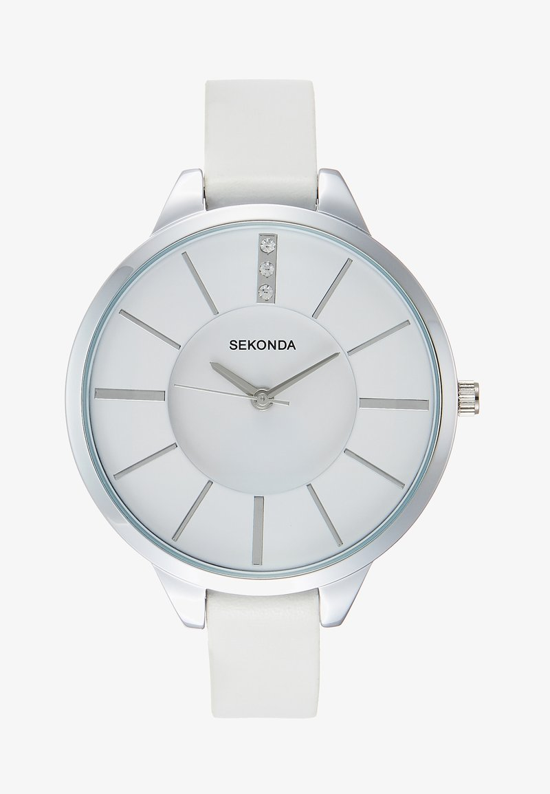 Sekonda - LADIES WATCH ROUND CASE - Watch - white