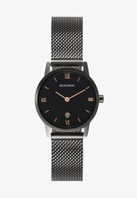 Sekonda - LADIES WATCH ROUND CASE - Watch - black - 0