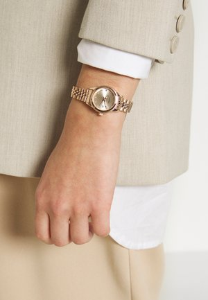 LADIES WATCH ROUND CASE - Montre - rose gold-coloured