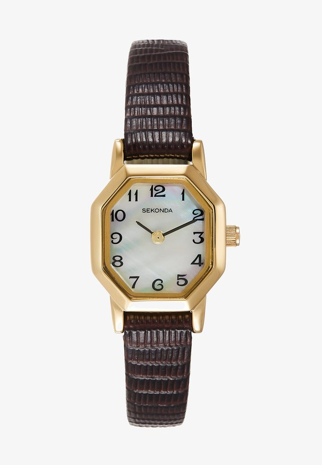 LADIES WATCH - Zegarek - brown