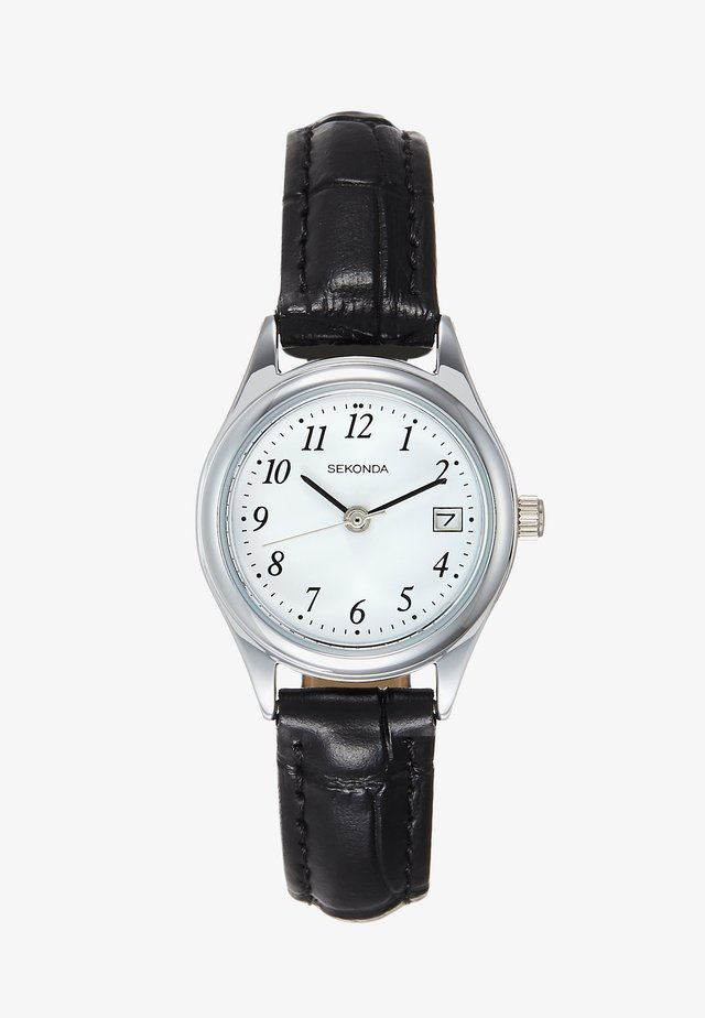 LADIES WATCH ROUND CASE - Montre - black