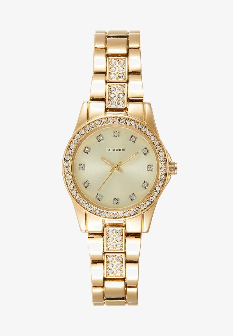 Sekonda - LADIES WATCH ROUND CASE - Watch - gold-coloured
