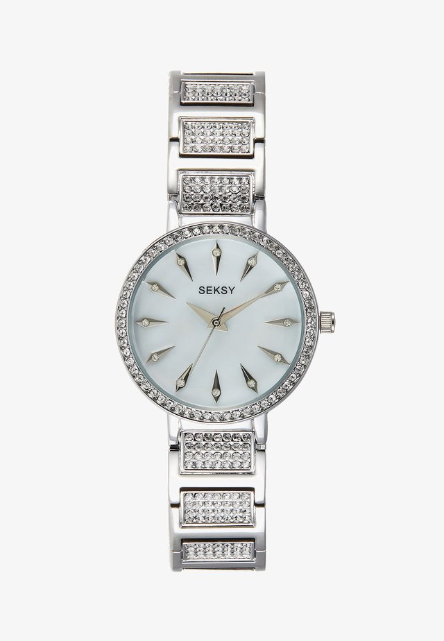 WRIST WEAR BY SEKONDA LADIES FASHION WATCH - Zegarek - silver-coloured