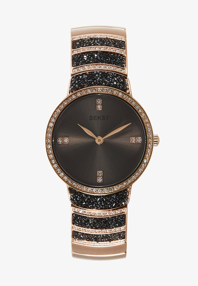 WRIST WEAR BY SEKONDA LADIES FASHION WATCH - Zegarek - grey