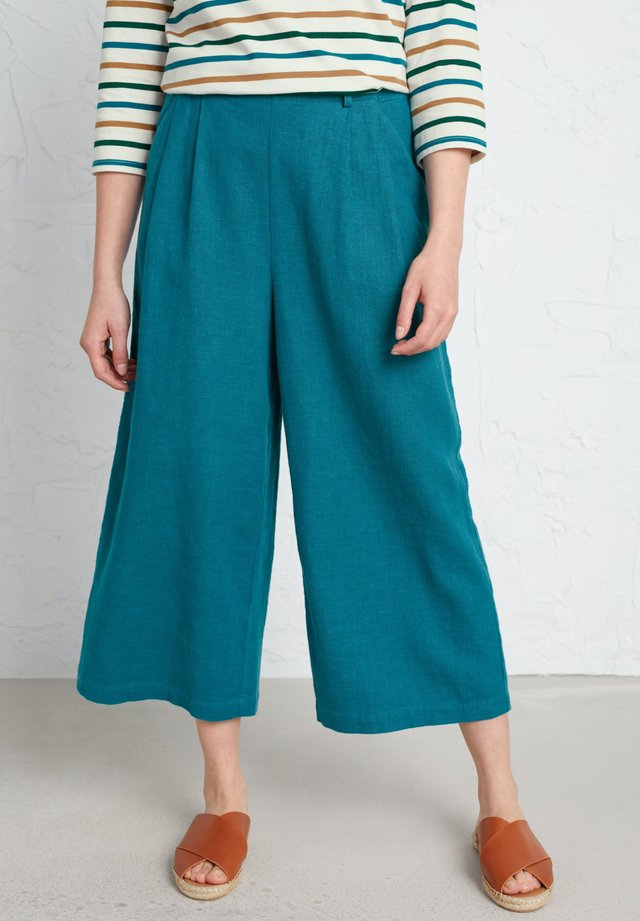 BREAKING WAVES CULOTTES - Kangashousut - blue