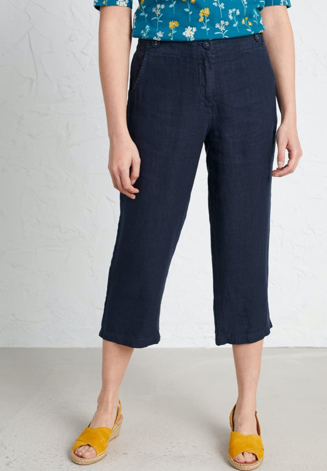 BRAWN POINT CROPS - Trousers - dark blue