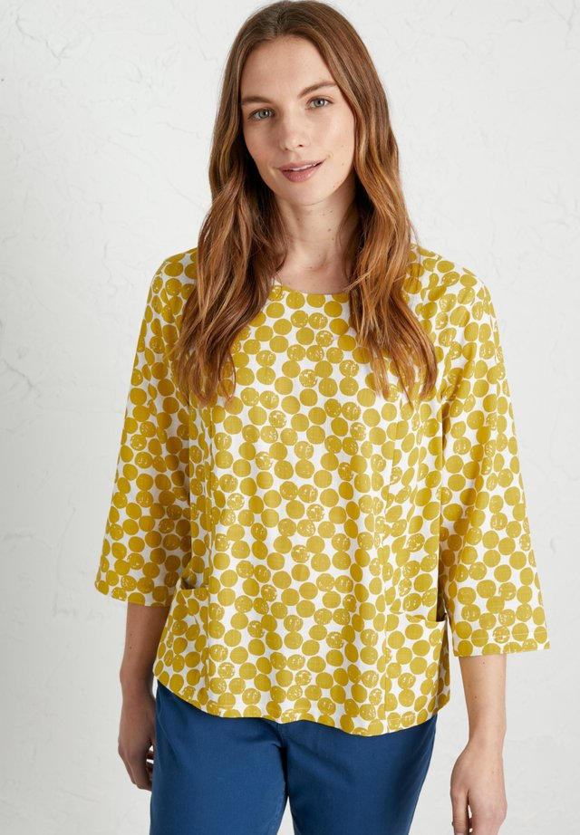 ART GALLERY  - Blouse - yellow