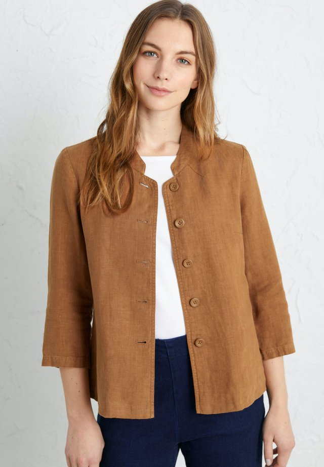 CASTING CALL  - Summer jacket - brown
