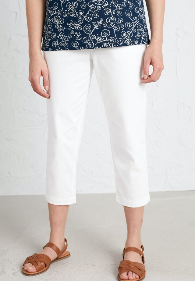 ALBERT QUAY  - Trousers - white
