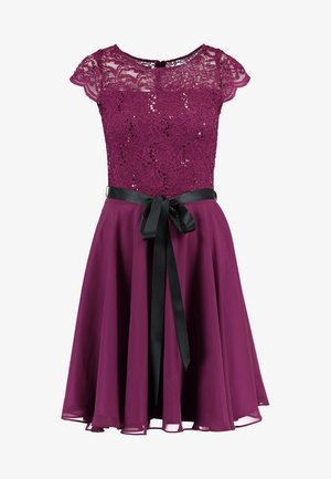 Sukienka koktajlowa - lila