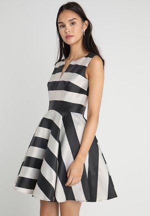 Robe de soirée - black/beige