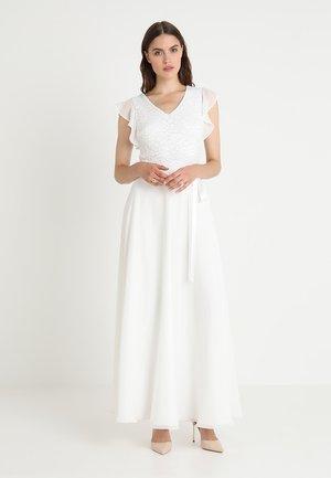 Suknia balowa - creme white