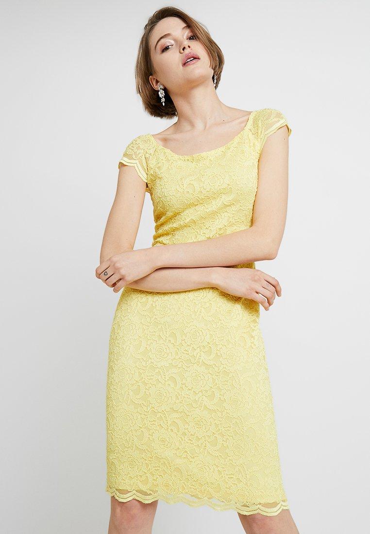 Swing - Koktejlové šaty/ šaty na párty - yellow