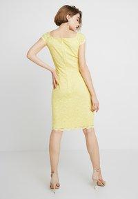 Swing - Koktejlové šaty/ šaty na párty - yellow - 2