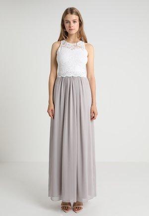 Festklänning - creme/silbergrau