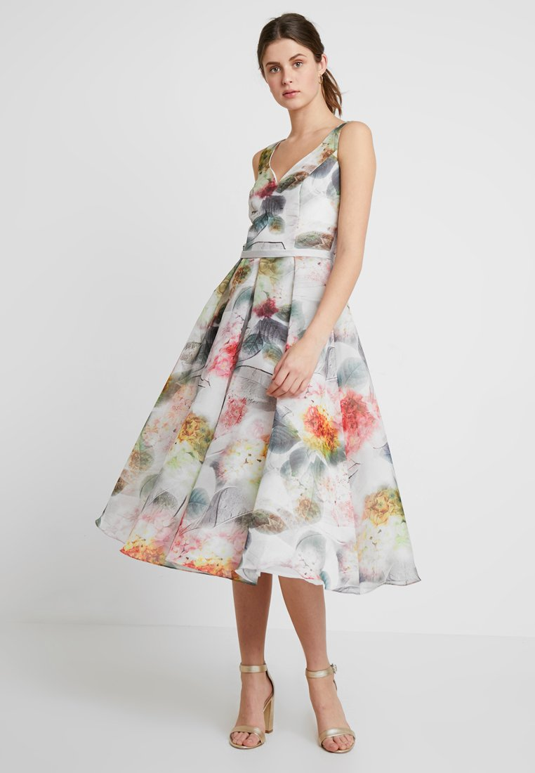 Swing - Cocktail dress / Party dress - cremeweiß/bunt