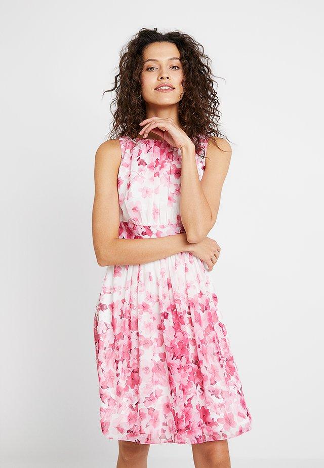 Cocktailklänning - pink/ecru