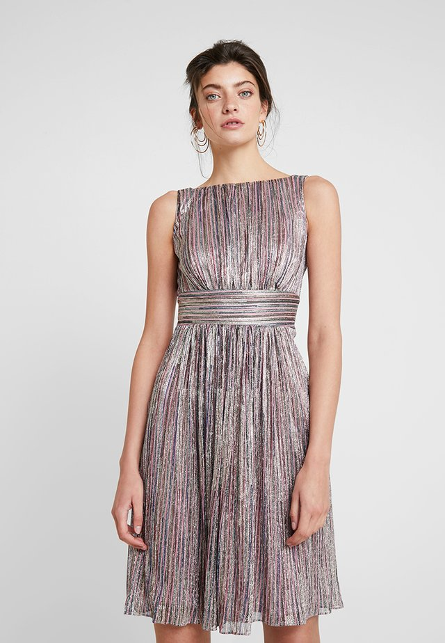 Sukienka koktajlowa - gold multi