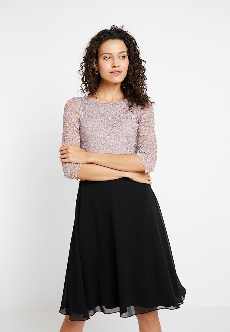 Swing - Cocktail dress / Party dress - puder/schwarz