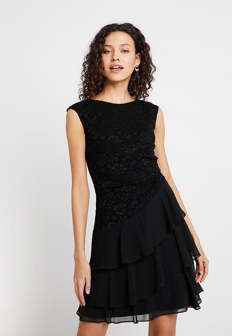 Swing - Cocktailkleid/festliches Kleid - schwarz