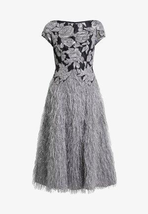 Vestido de cóctel - mausgrau/silber