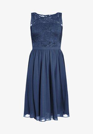 Sukienka koktajlowa - rust