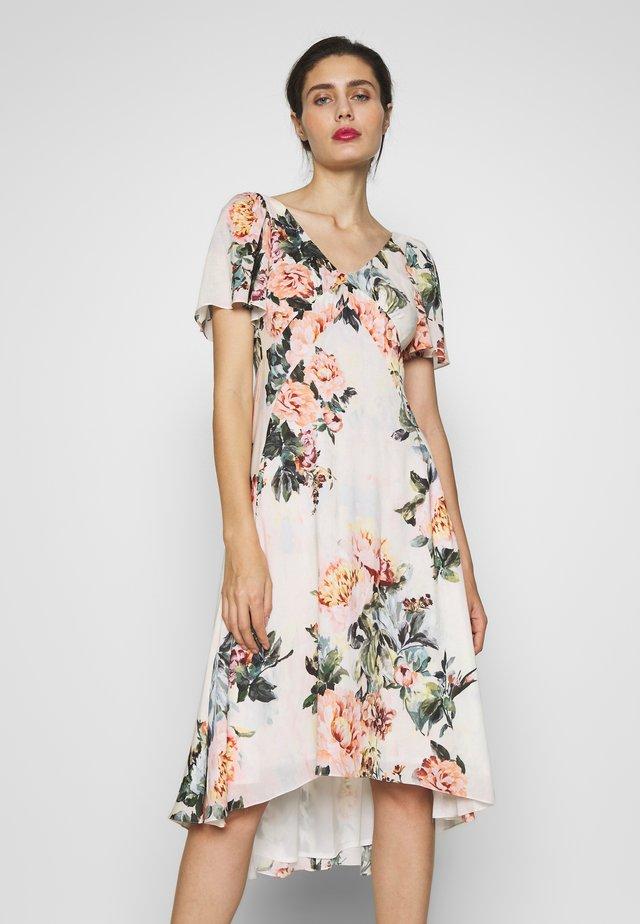 Sukienka letnia - champagner/bunt