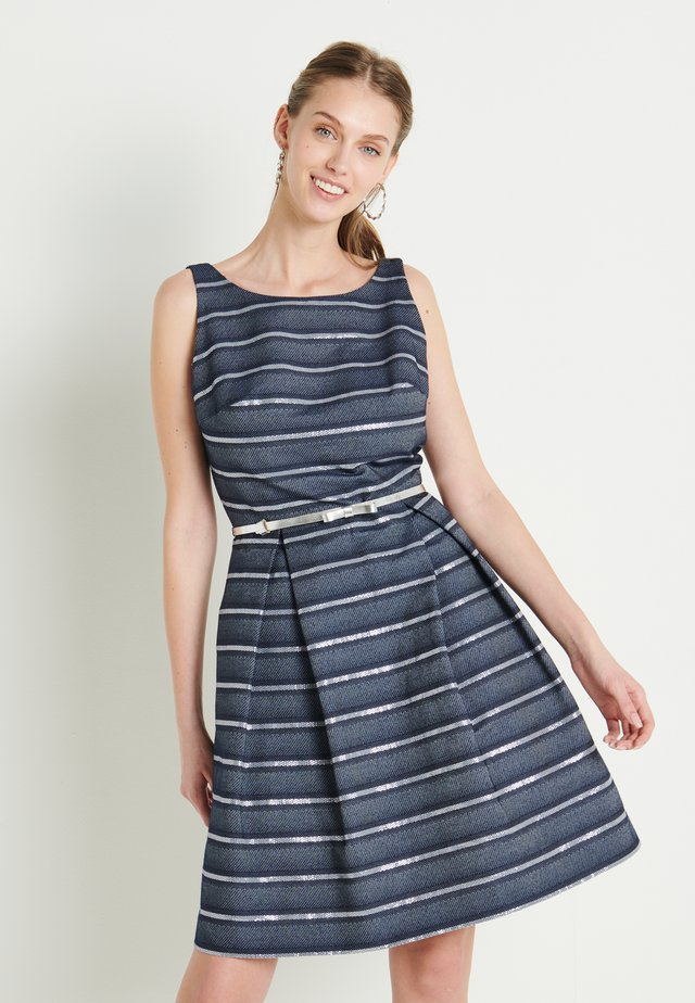 Vestito elegante - marine /silber