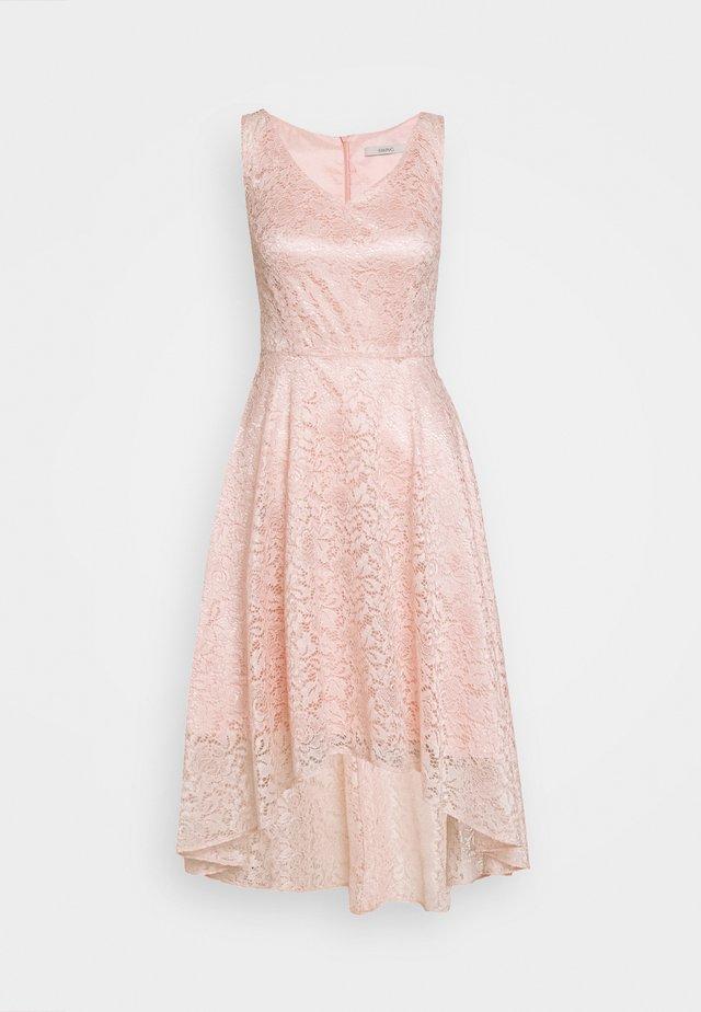 Koktejlové šaty/ šaty na párty - light rose