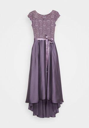 Společenské šaty - grau/violett