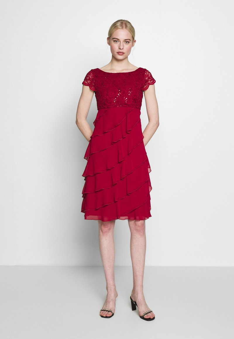 Swing - Cocktail dress / Party dress - rio red