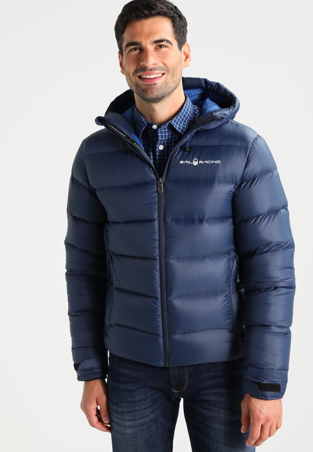 GRAVITY JACKET - Down jacket - navy