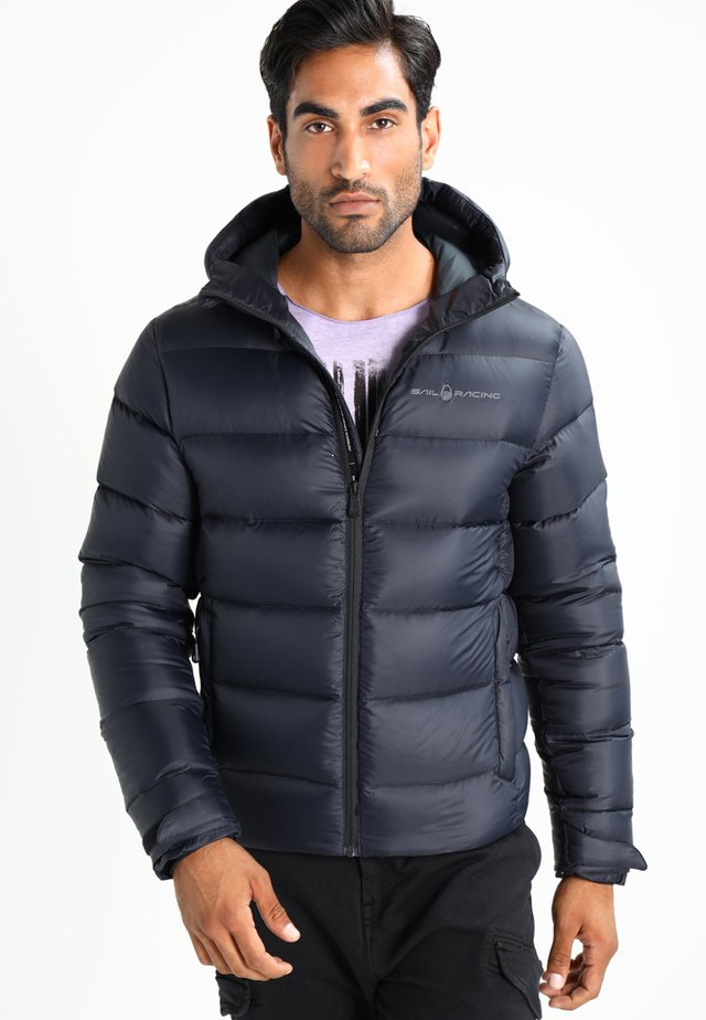 GRAVITY JACKET - Down jacket - carbon