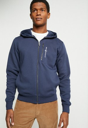 BOWMAN ZIP HOOD - veste en sweat zippée - navy