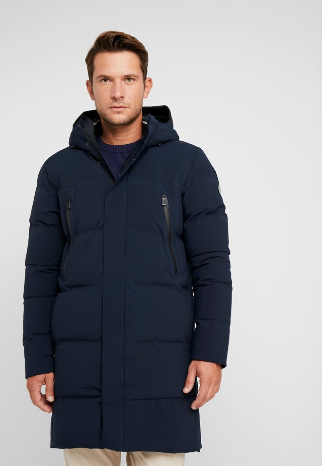 RACE COAT - Down coat - navy