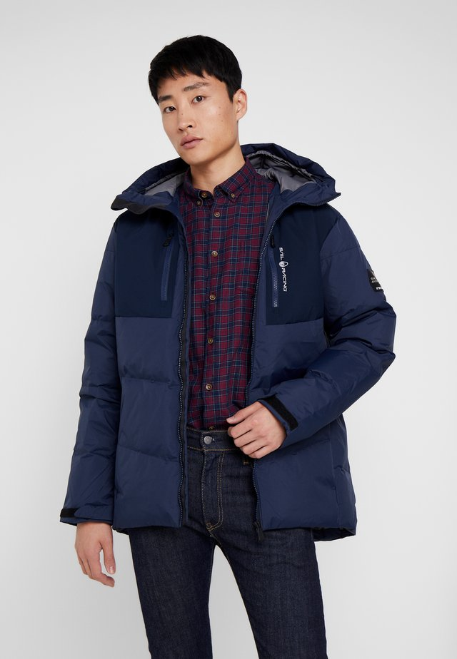 PATROL JACKET - Down coat - navy