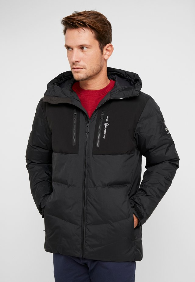PATROL JACKET - Down coat - carbon